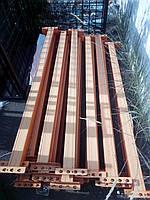 Стальные траверсы желтые 1870х220х50мм. Б/У. Траверсы для складских стеллажей.