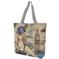 Пляжная сумка ETERNO Женская пляжная тканевая сумка ETERNO (ЭТЕРНО) DET1804-10