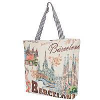 Пляжная сумка ETERNO Женская пляжная тканевая сумка ETERNO (ЭТЕРНО) DET1804-11