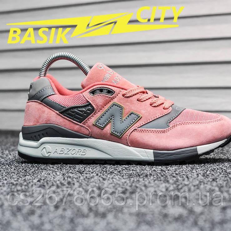 Женские кроссовки New Balance 998 Pink