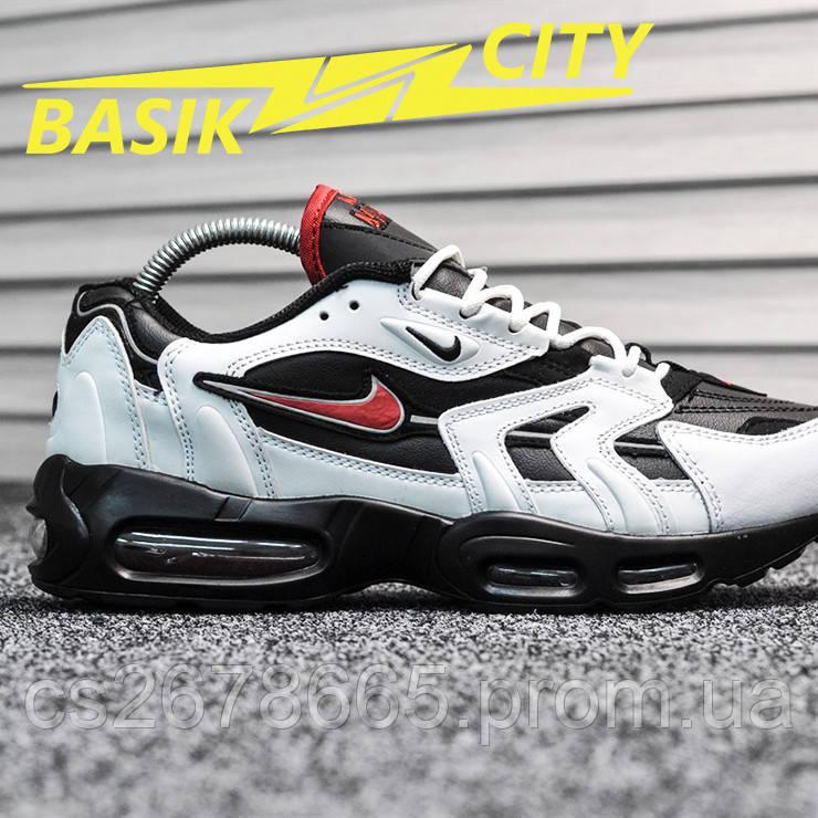 Мужские кроссовки Nike Air Max 96 White Black Red