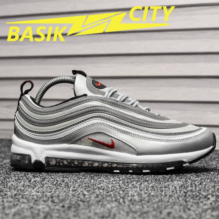 Мужские кроссовки Nike Air Max 97 Silver Bullet New