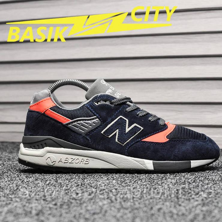 Мужские кроссовки New Balance 998 Retro Suede