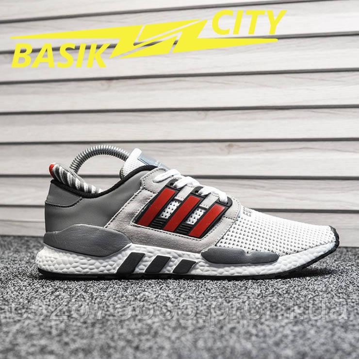 Мужские кроссовки Adidas Equipment White Red