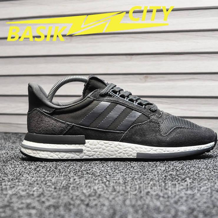 Мужские кроссовки Adidas ZX 500 Gray