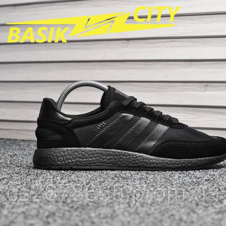 Мужские кроссовки Adidas Iniki Triple Black