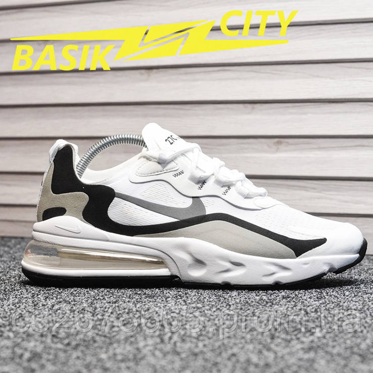 Мужские кроссовки Nike Air Max 270 react White