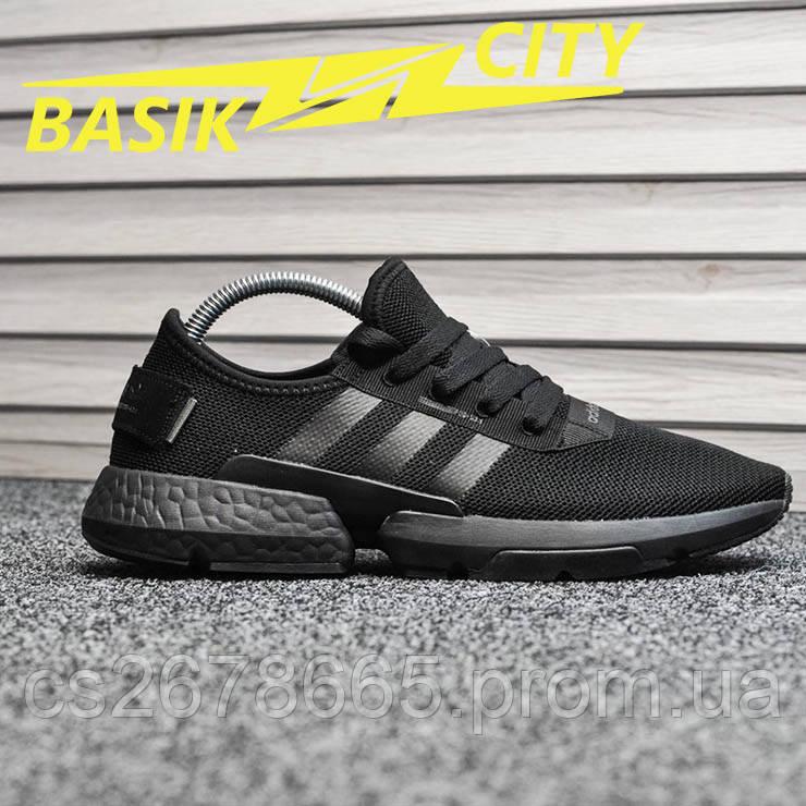 Мужские кроссовки Adidas Pod s3.1 Triple Black