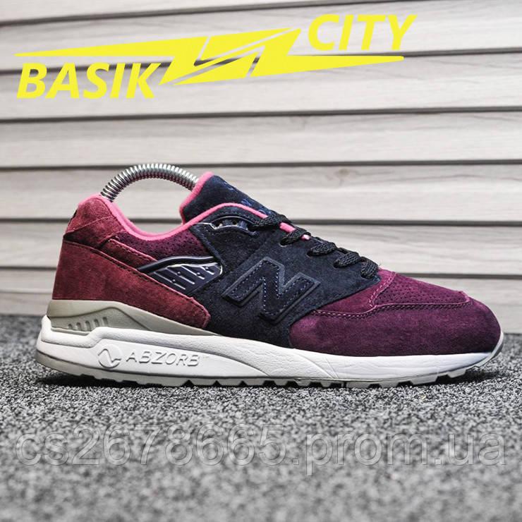 Мужские кроссовки New Balance 998 Purple Grape