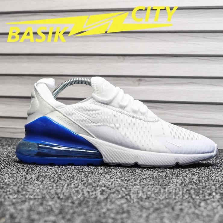 Мужские кроссовки Nike Air Max 270 White Blue