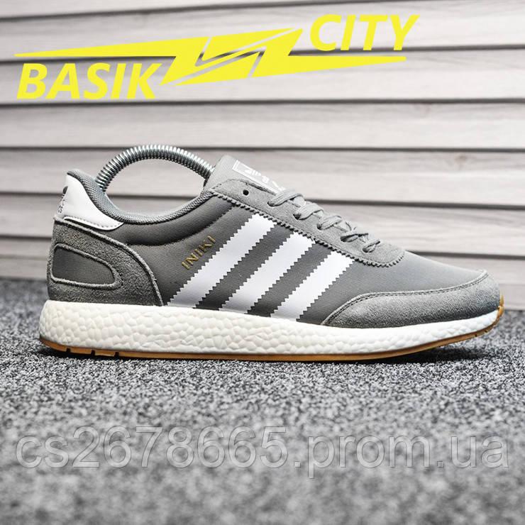 Мужские кроссовки Adidas Iniki Deep Gray