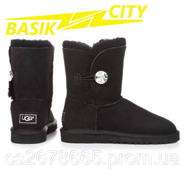 Женские угги UGG Australia Bailey Bling Black 3349 Black