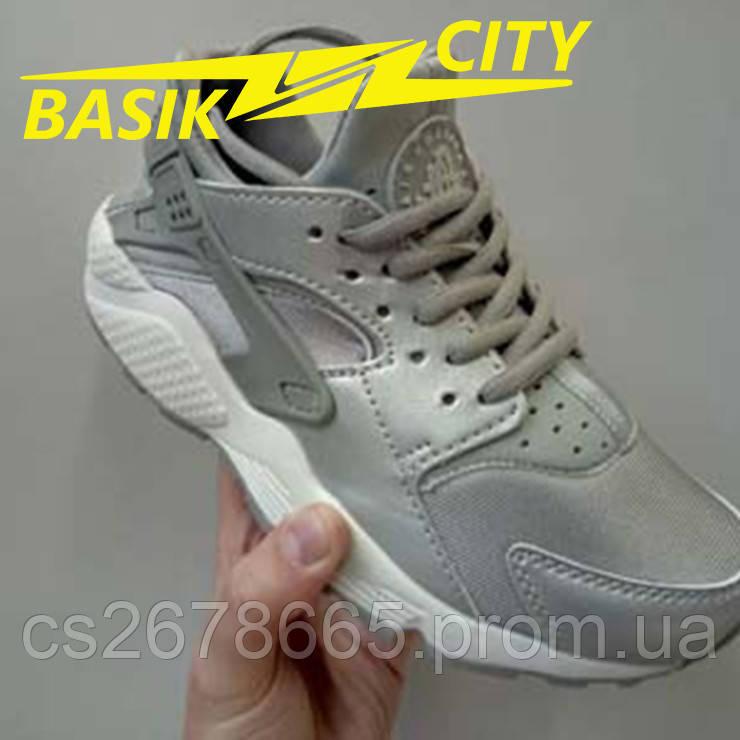Кроссовки женские Nike Air Huarache Сталь