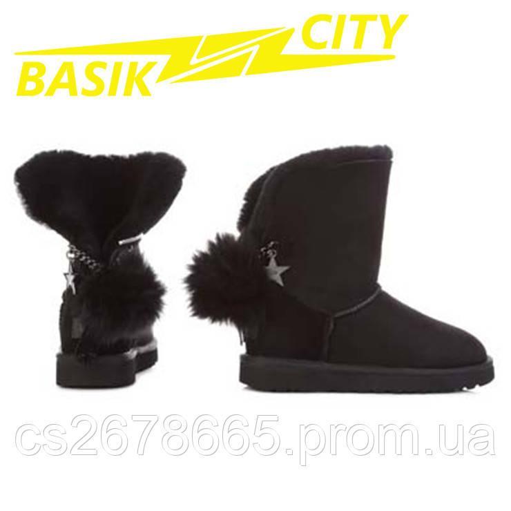 Женские угги UGG Australia Сlassic Short W / 1095717 / BLA