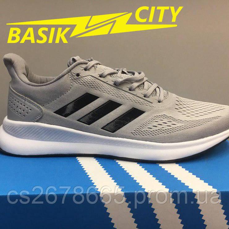 Кроссовки мужские Adidas Lite Racer Серые