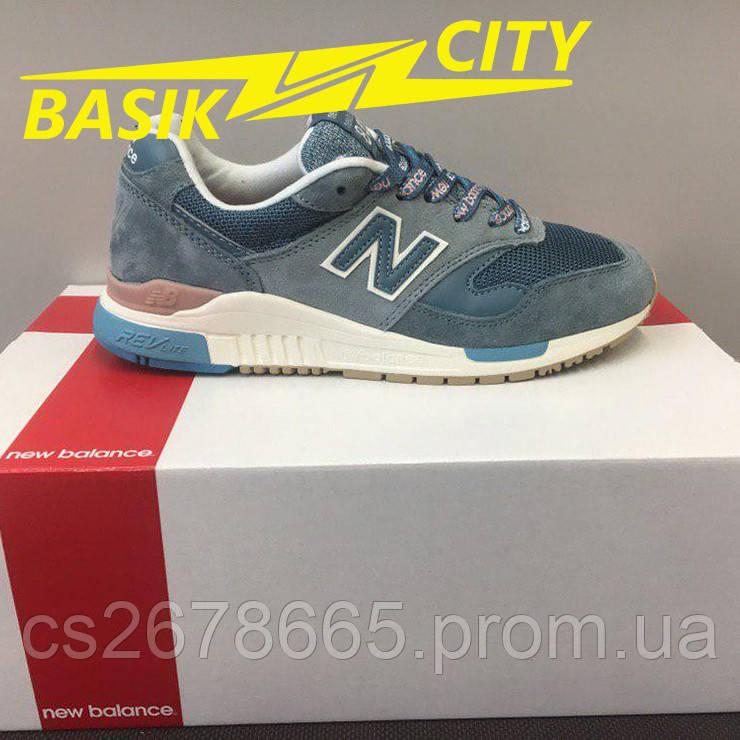 Кроссовки женские New Balance 840 Синие