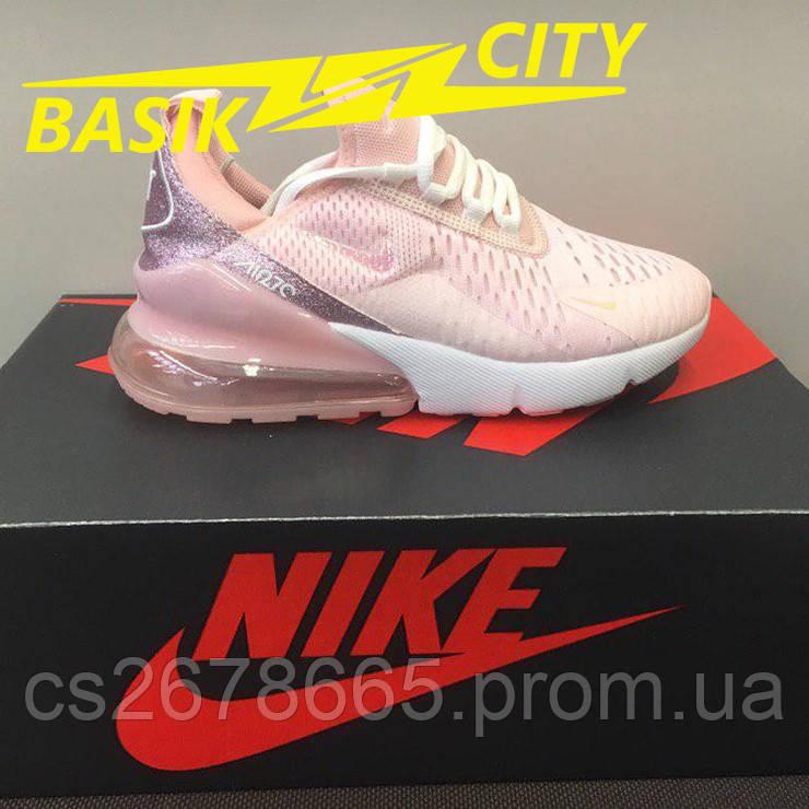 Кроссовки женские Nike Air Max 270 Розовый