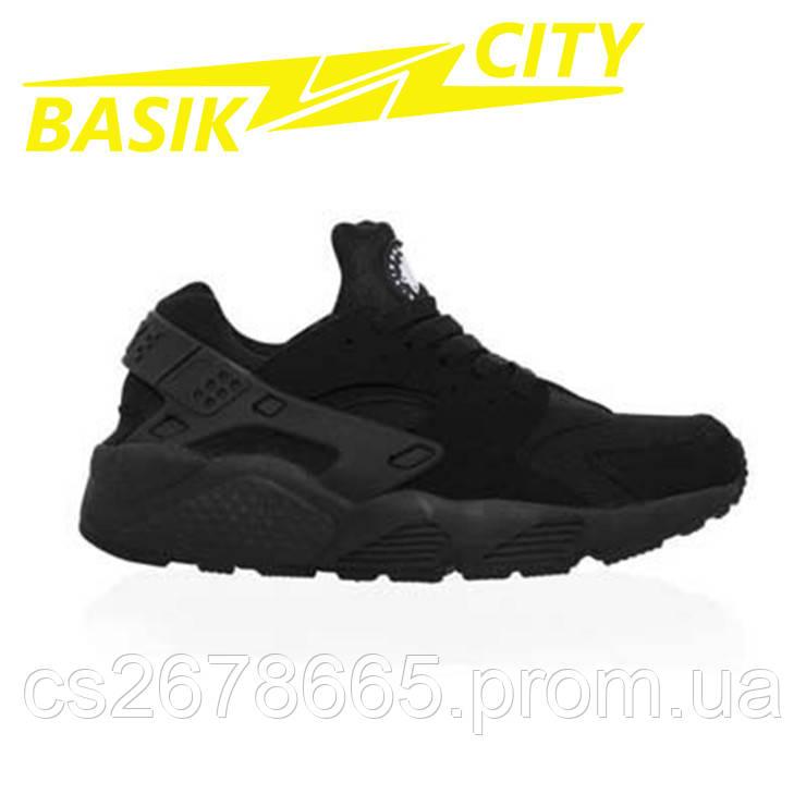 Кроссовки женские Nike Air Huarache Черные