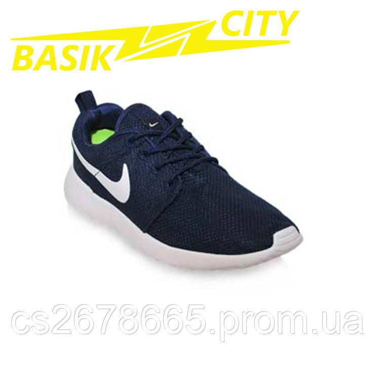 Кроссовки женские Nike Roshe Run Темно-синие