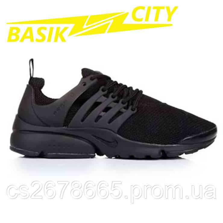 Кроссовки женские Nike Presto Черные