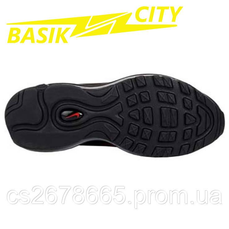 Кроссовки женские Nike Air Max 97 ЧЕРНО Красные