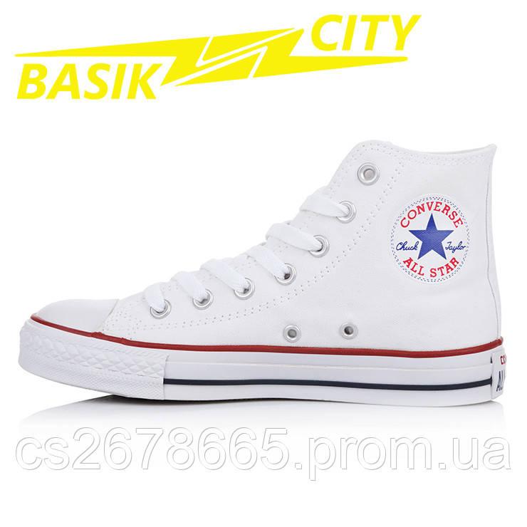 Кеды женские Converse All Star Высокие Белые