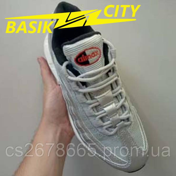 Кроссовки женские Кроссовки Nike Air Max 95 Серо-красные
