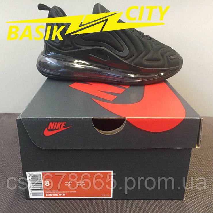 Кроссовки женские Nike Air Max 720 Black