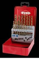 Набор сверл по металлу RUKO 214 615