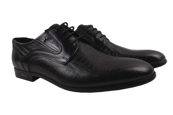 Туфлі Cosottinni натуральна шкіра, колір чорний
