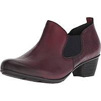 Ботинки Rieker R7575 Queenie 75 Burgundy - Оригинал