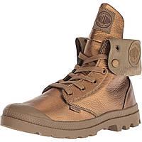 Ботинки Palladium Baggy Metallic Leather Brown - Оригинал