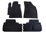 Резиновые ковры Stingray TOYOTA Highlander 08 - 4м.