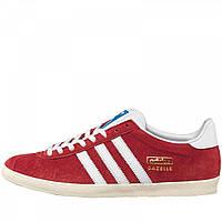 Кроссовки adidas Originals Gazelle OG University Red/White/Metallic - Оригинал