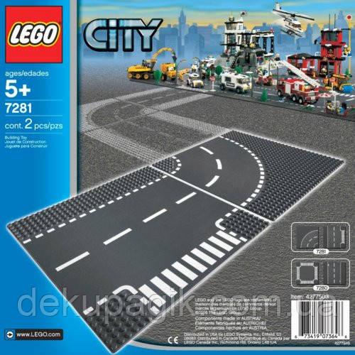 LEGO City Повороты 7281