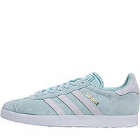 Кроссовки adidas Originals Gazelle Ash Green/Footwear White/Blue Tint - Оригинал