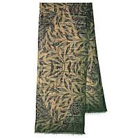 10788-10 кашне мужское, павлопосадский шарф (кашне) шерстяной (разреженная шерсть) с осыпкой, фото 1