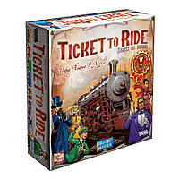 Ticket to Ride: Америка (Билет на поезд: Америка). Настольная игра. Hobby World.