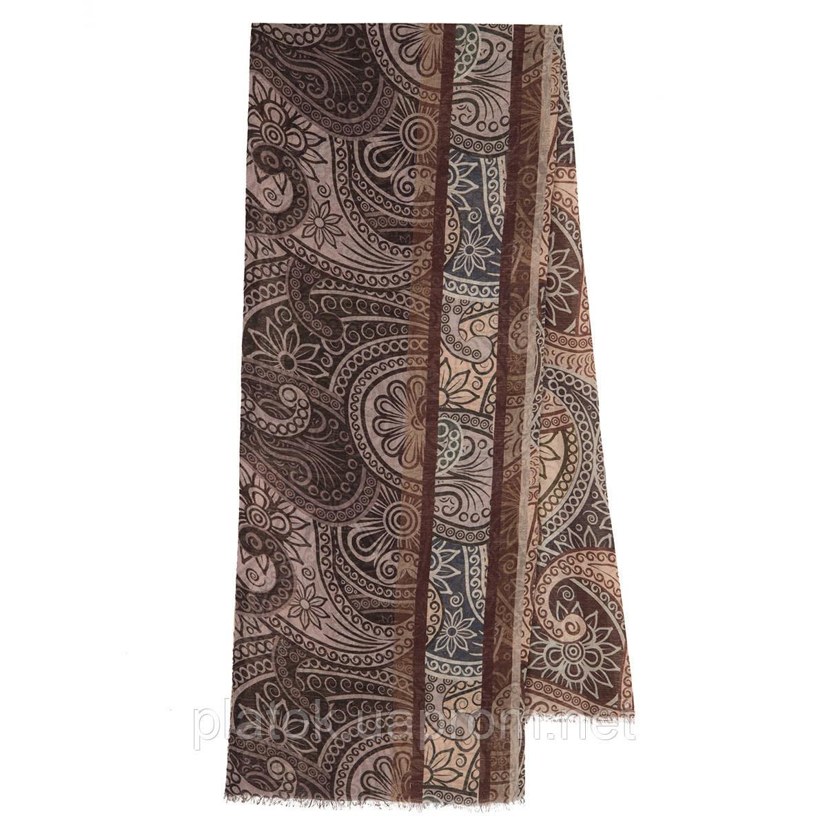 Кашне мужское разреженная шерсть 10372-, павлопосадский шарф (кашне) шерстяной (разреженная шерсть) с осыпкой