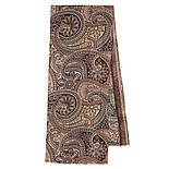 Кашне мужское разреженная шерсть 10372-, павлопосадский шарф (кашне) шерстяной (разреженная шерсть) с осыпкой, фото 2