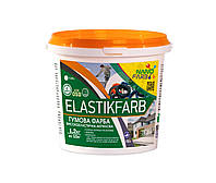 ELASTIKFARB резиновая краска высокоэластичная 1.2 кг Нанофарб