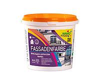 Акриловая фасадная краска Fassadenfarbe Nano farb 1.4 кг