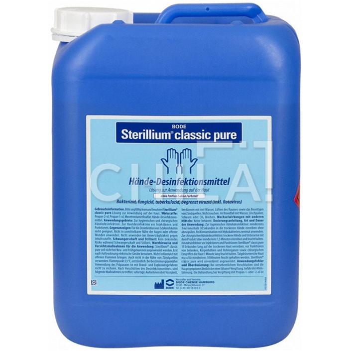 Стериллиум Классик Пур (5000 мл) Германия - средство для дезинфекции рук и кожи