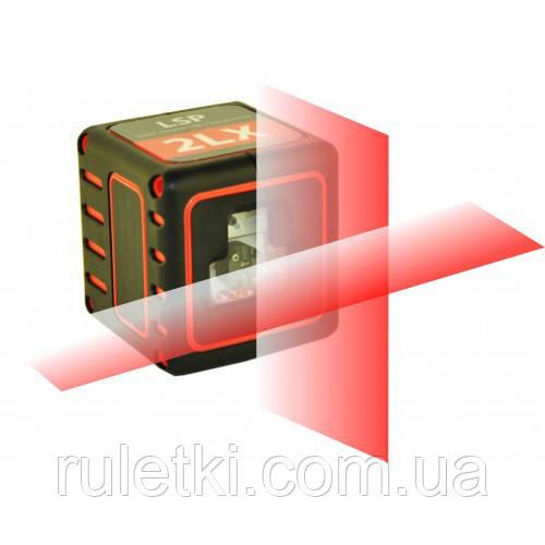 Лазерный уровень LSP 2LX c прещепкой