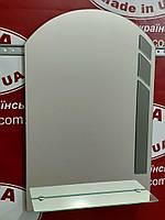 Зеркало в ванную с декором №58 /Дюбель 6х40 в Подарок