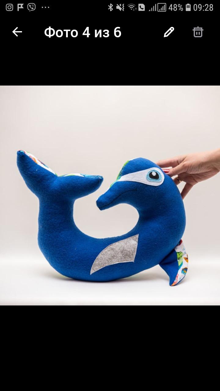 Подголовник Дельфин