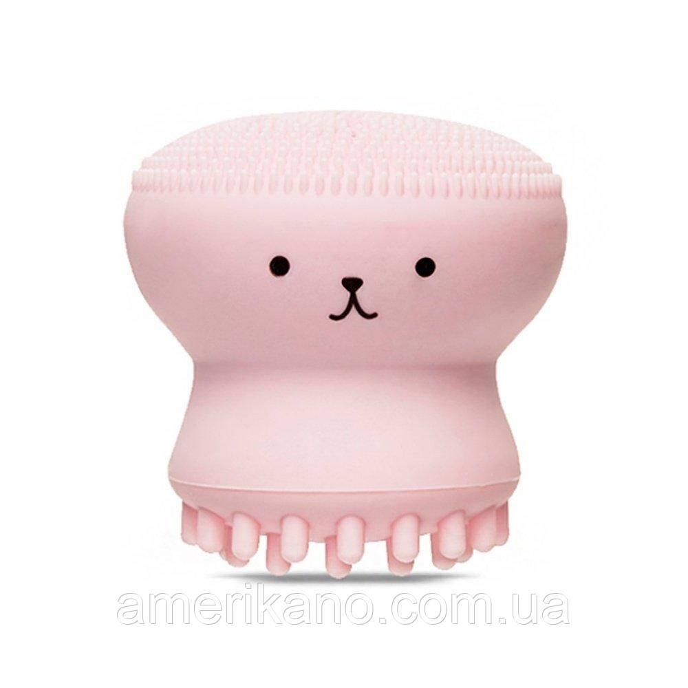Силиконовая щеточка для очищения пор ETUDE HOUSE My Beauty Tool Exfoliating Jellyfish Silicon Brush