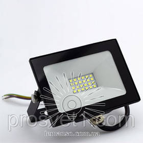 Прожектор LED 30W 6500K IP65 черный***