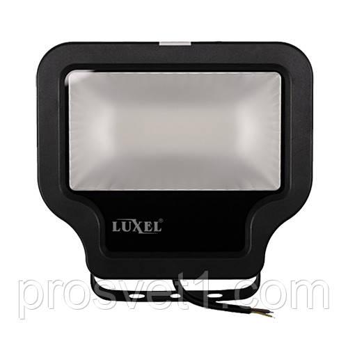 Прожектор светодиодный Luxel 20W 6500K LP-20C черный