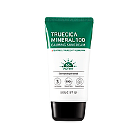 Солнцезащитный успокаивающий крем SOME BY MI Truecica Mineral 100 Calming Sunscreen SPF50+ PA++++, 80 мл
